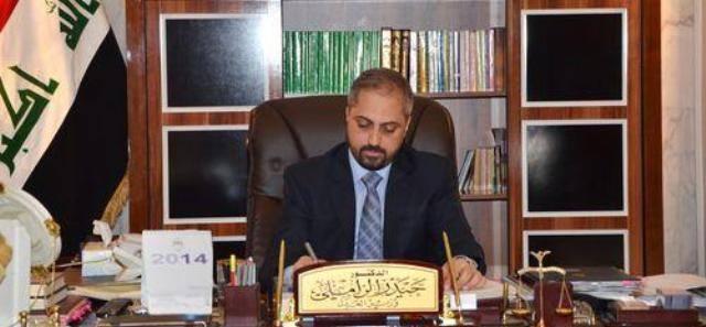العدل:  استئناف العمل في مديرية تنفيذ الرمادي بمحافظة الانبار بعد تحريرها