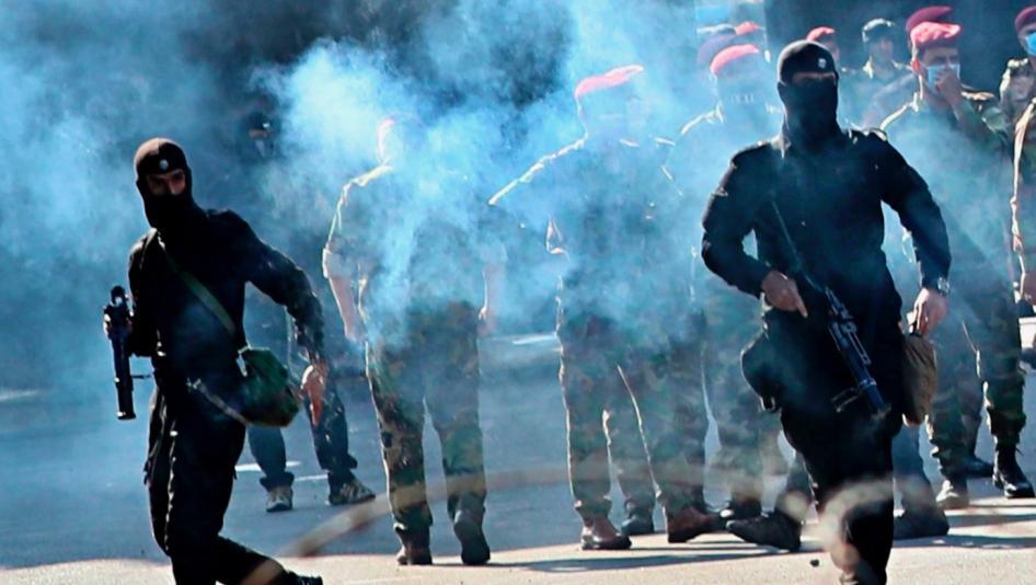 بالوثيقة ..  العراق يستورد الغاز المسيل للدموع من صربيا بـ14 مليون دولار