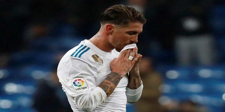 سيرجيو راموس يتهم نادي برشلونة بتدبير حملة لتشويه سمعته
