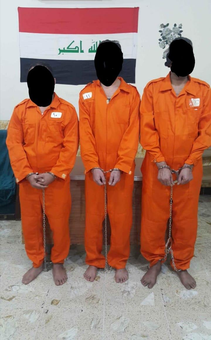 اعتقال ثلاثة متهمين بالقتل العمد والقضاء يصدر حكماً باعدامهم في النجف