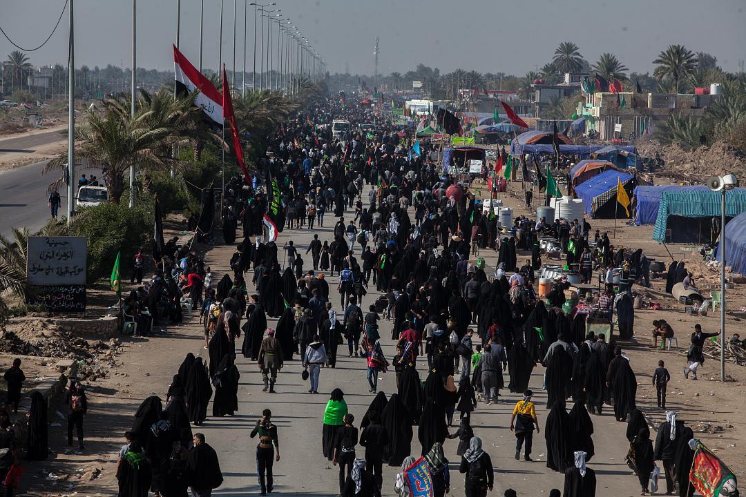 القوات الأمنية تستنفر لتأمين عودة الزائرين بعد انتهاء مراسم الزيارة الأربعينية