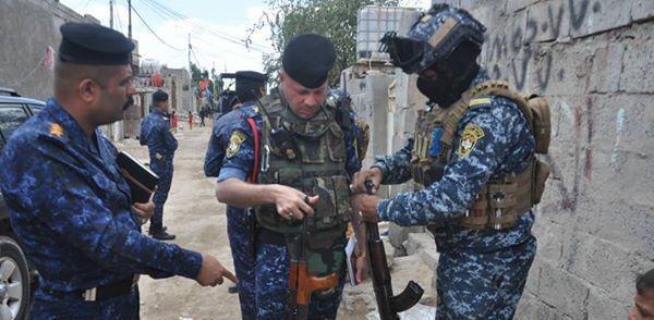 بالصور ..  عملية استباقية للشرطة الاتحادية في المناطق المحاذية لنهر ديالى