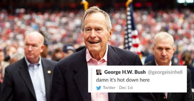 """الاعلام الرقمي : تويتر توقف حسابا غرّد """"جورج بوش في الجحيم"""""""