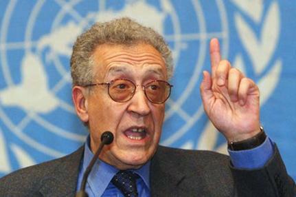 الإبراهيمي يشعر بالاستياء من تحركات الجامعة العربية ويتطلع لدور جديد كمبعوث للأمم المتحدة في سوريا