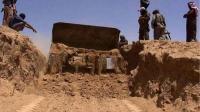 داعش يبدأ ببناء سواتر ترابية بين نينوى وكردستان
