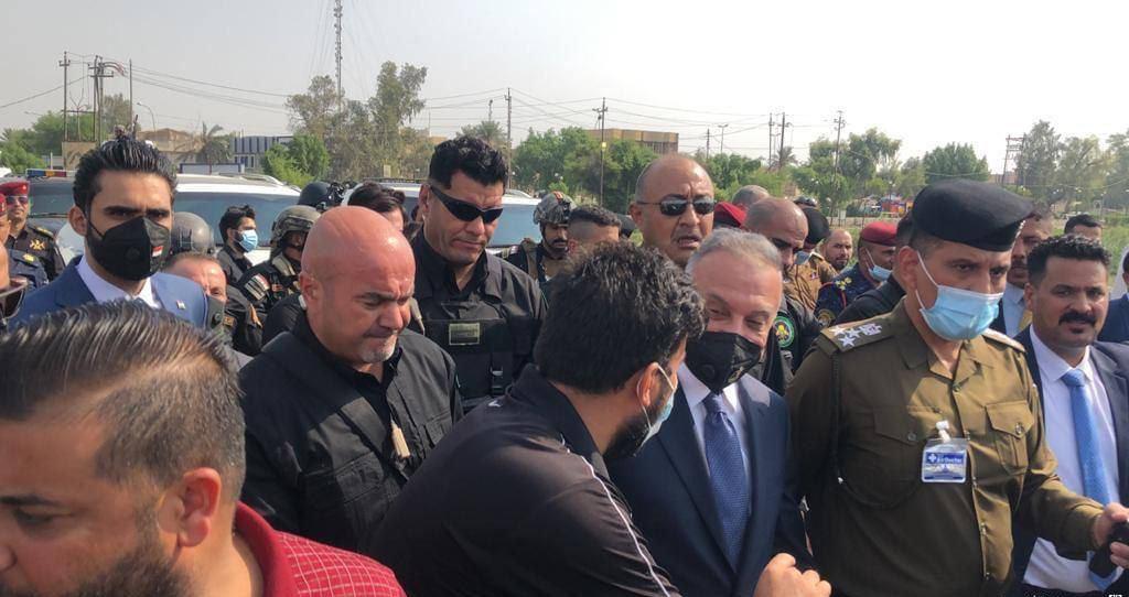 الكاظمي يرفض من ذي قار ربط العمل الامني بالجانب السياسي
