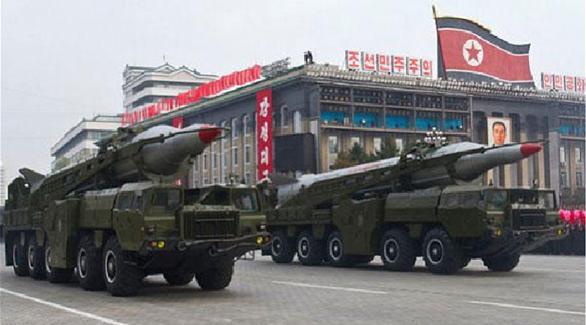 ابعاد صاروخين عن موقع الاطلاق في كوريا الشمالية