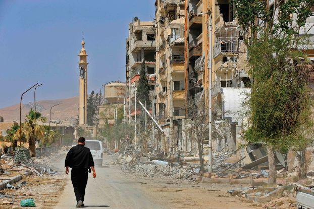 مشروع قرار غربي «معدّل» حول سورية يطلب لجنة دستورية «جامعة»
