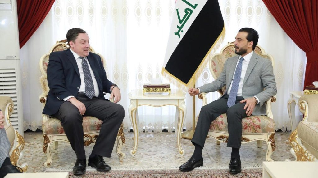 Halabousi stresses the importance of international support for Iraq with the file of investment and reconstruction of cities Image