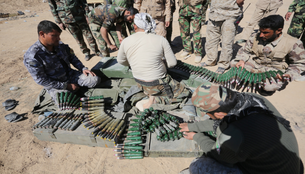 A source in the Defense announces stop forces from attacking Tikrit for tactical reasons