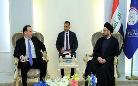 ماكغورك للحكيم .. الولايات المتحدة تدعم العراق في تشكيل الحكومة بارادة عراقية