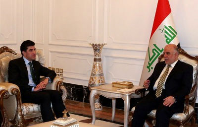 Abadi withdraw from negotiations with the Kurdish delegation