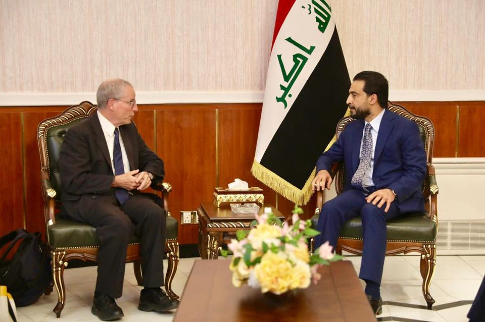 Halbousi urges America to expand military and political partnership with Iraq Image