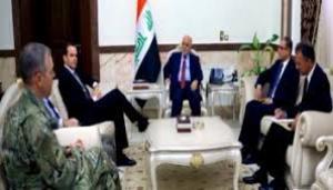 رئيس الوزراء يؤكد على ضرورة استمرار القوات الاميركية بتدريب وتسليح القوات الأمنية العراقية