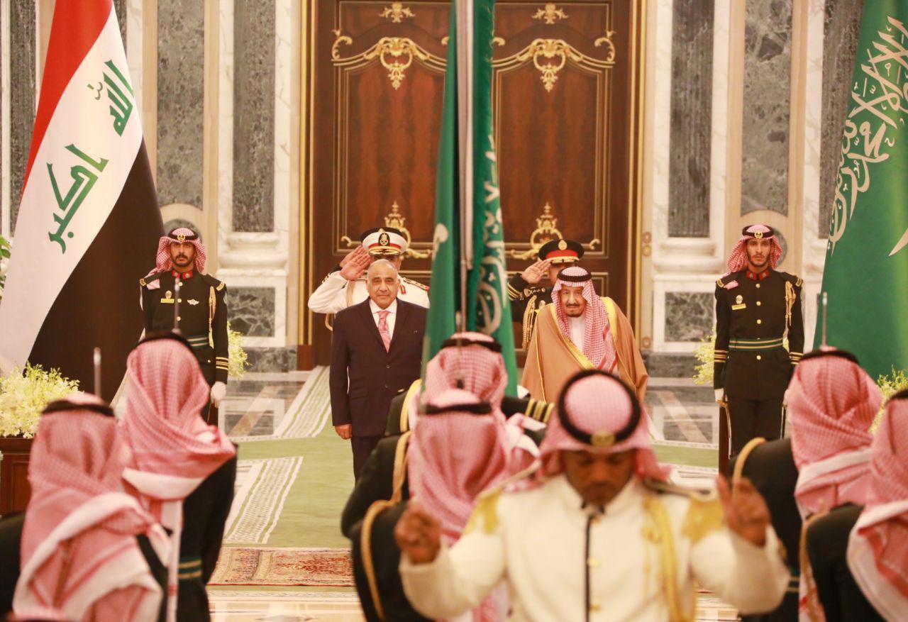 العراق يوقع 13 اتفاقية ومذكرة تفاهم مع السعودية