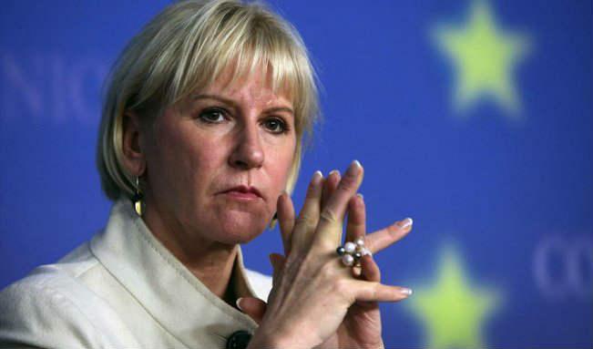 إقرأ كيف ردت وزيرة خارجية السويد على سخرية ليبرمان من اعتراف ستوكهولم بدولة فلسطين