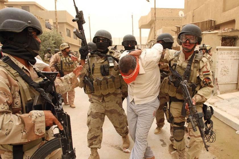 القبض على 22 مطلوباً بعمليات تفتيش غرب الموصل