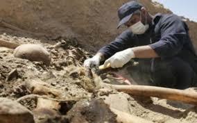 الكشف عن وجود مقبرة  جديدة تضم رفات شهداء سبايكر في مدينة تكريت