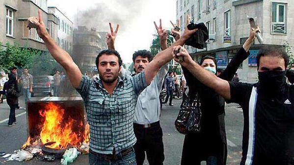 بالفيديو ..  تظاهرة حاشدة في طهران احتجاجا على تدهور الوضع المعيشي