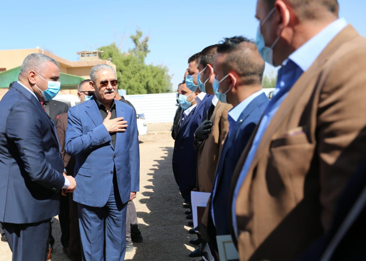 رئيس جهاز الامن الوطني يصل الانبار ويبحث الواقع الأمني في المحافظة