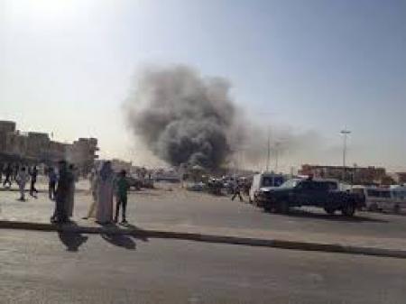 اصابة مواطنيين بانفجار عبوة ناسفة جنوبي العاصمة بغداد