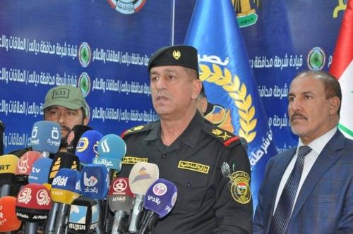تفكيك 26 شبكة ارهابية واجرامية واعتقال افرادها في ديالى