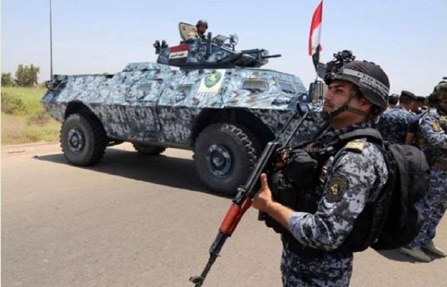 الشرطة الاتحادية تطيح بعنصرين من داعش جنوب غربي كركوك