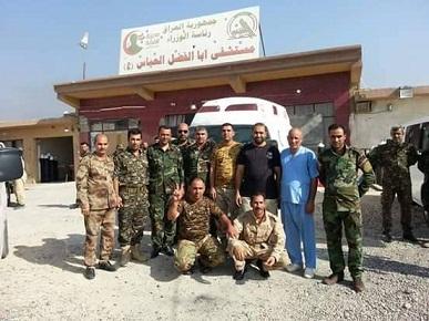 ارسال مفارز طبية إلى قاطع عمليات تحرير الخالدية  لتقديم خدماتها للمقاتلين هناك