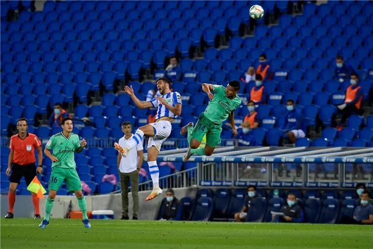 ريال مدريد يعود للصدارة بعد التغلب على ريال سوسيداد