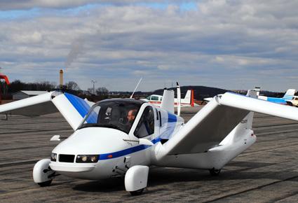 مركبة كهربائية تتحول إلى طائرة!