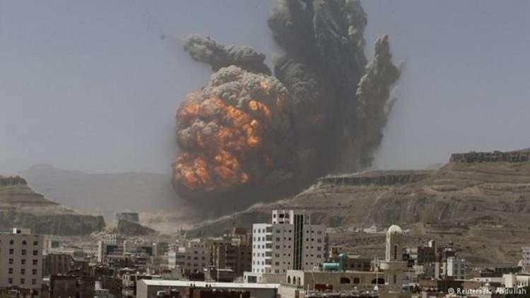 سلسلة انفجارات عنيفة تهز جنوبي صنعاء