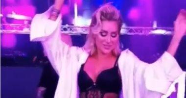 بالفيديو : مايا دياب ترقص على انغام راغب علامة ؟؟!!