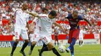 اشبيلية يحقق فوز ثمين على حساب برشلونة