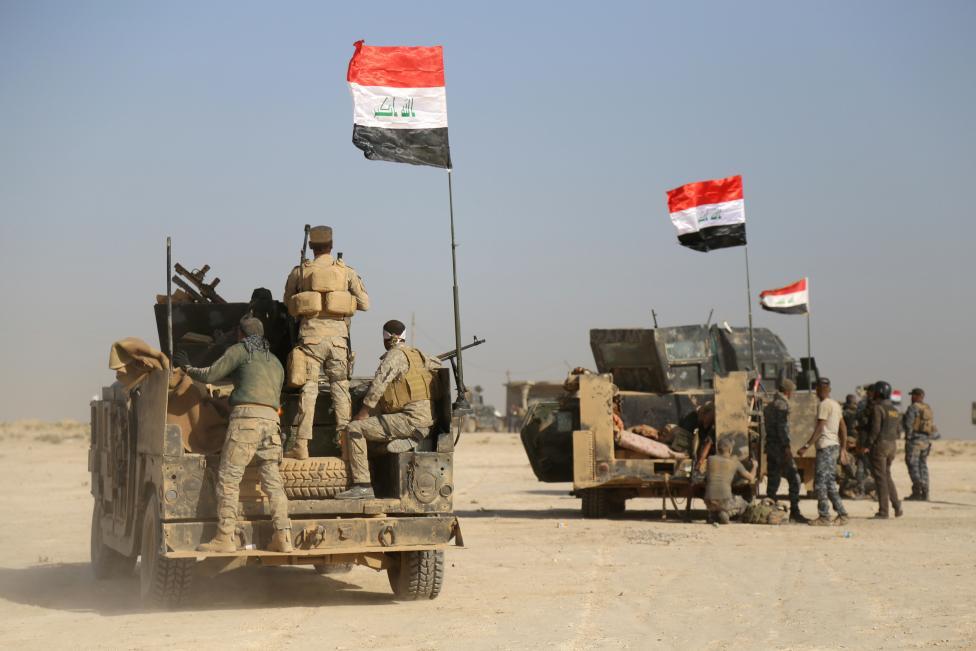 تحرير ناحية النمرود ضمن المحور الجنوب الشرقي لمدينة الموصل