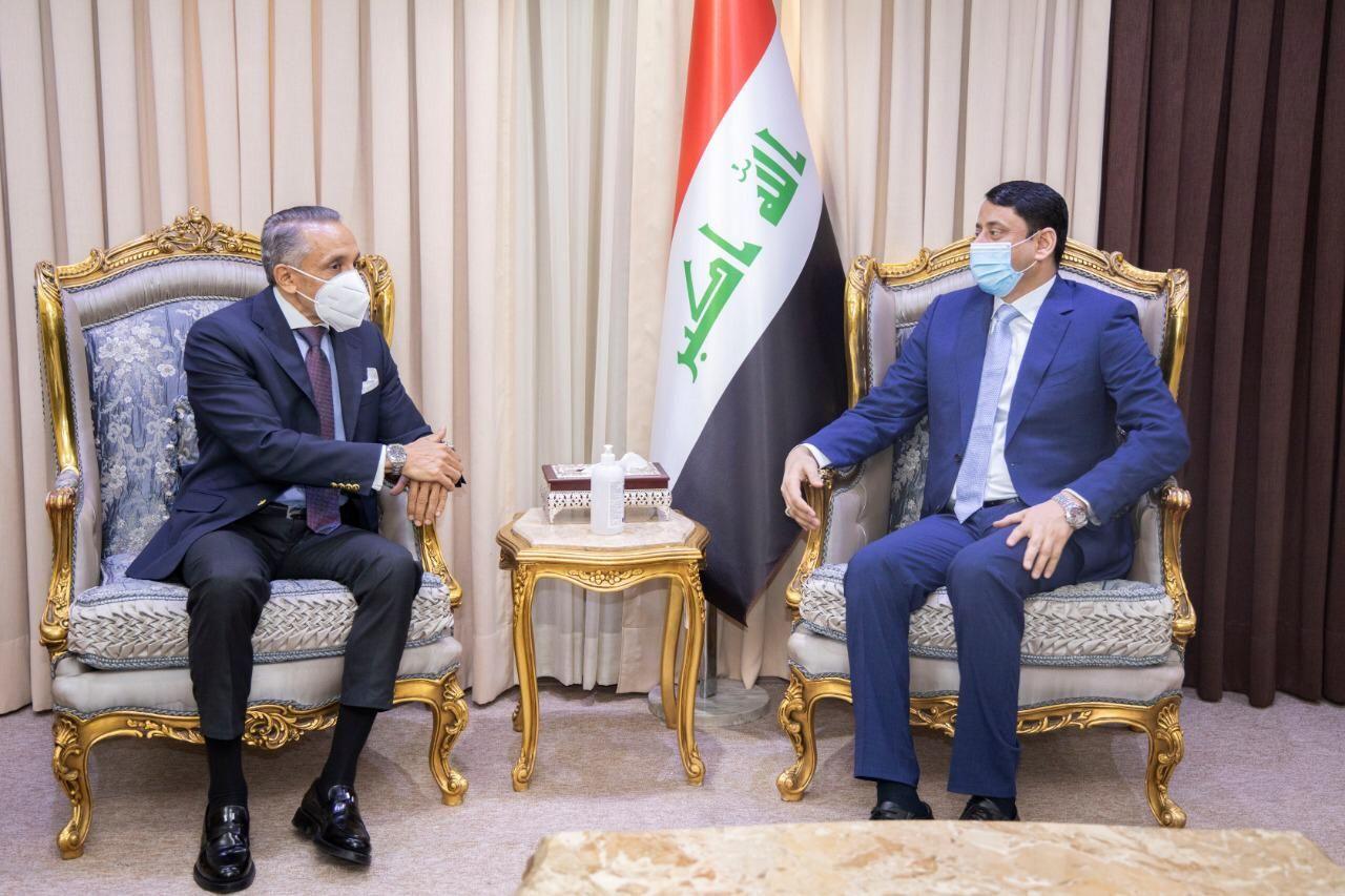 العراق ومصر يؤكدان ضرورة قطف ثمار الشراكة الثنائية بين البلدين