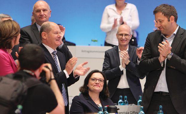 أول امرأة زعيمة لاشتراكيّي ألمانيا