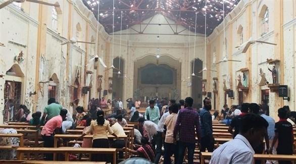 6 انفجارات تستهدف كنائس وفنادق في سريلانكا