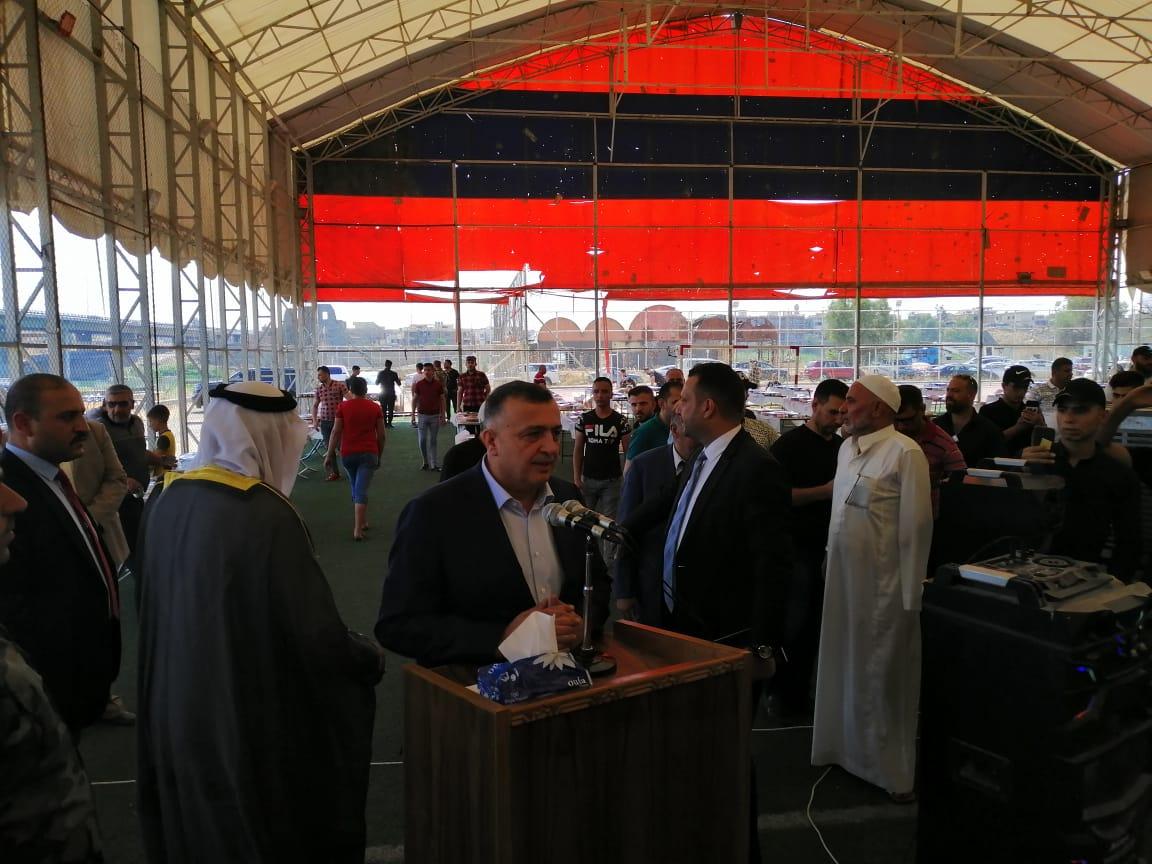 بالصور .. رئيس حزب الحل يلتقي وجهاء وشيوخ عشيرة السادة المشاهدة