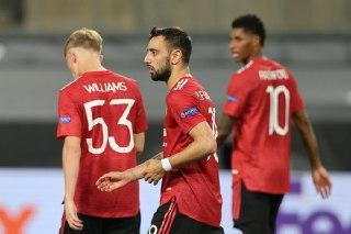 مانشستر يونايتد يهزم كوبنهاغن بصعوبة ويتاهل لنصف نهائي الدوري الاوروبي