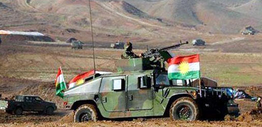 Peshmerga Mosul surrounded on three sides before the start of the ground offensive imminent