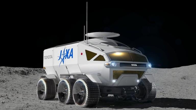 تويوتا تعد مركبة خاصة لمستكشفي القمر في غضون 10 سنوات