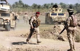 المحلاوي يصل قضاء الرطبة للاشراف على المعارك وتقديم الاسناد العسكري