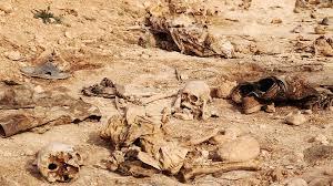 """العثور على أكبر مقبرة جماعية لضحايا قتلهم """"داعش"""" قرب الحدود العراقية السورية"""