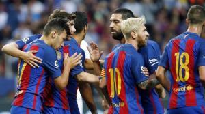 برشلونة يتغلب على أوساسونا بسبعة أهداف
