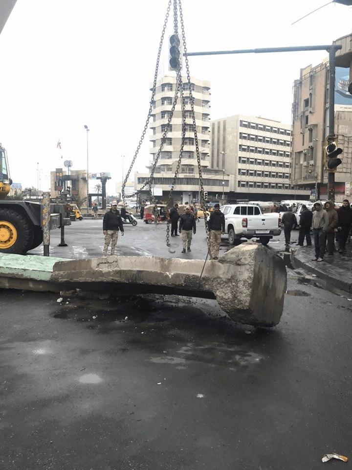 عمليات بغداد: فتح ساحة الخلاني أمام حركة العجلات