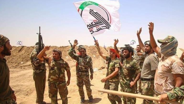 الحشد الشعبي  يعلن قتله داعشيين جنوب سامراء