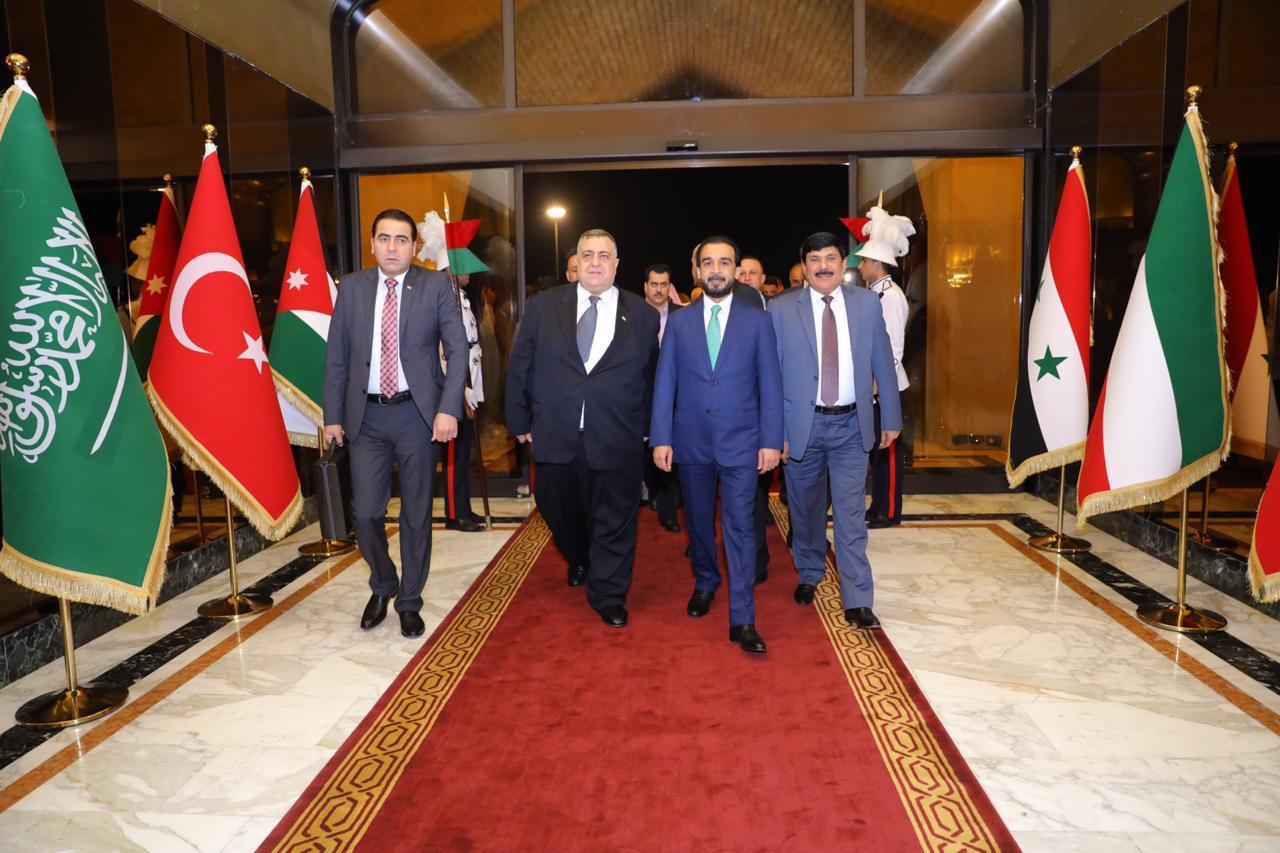 الحلبوسي يستقبل رئيس مجلس الشعب السوري في بغداد