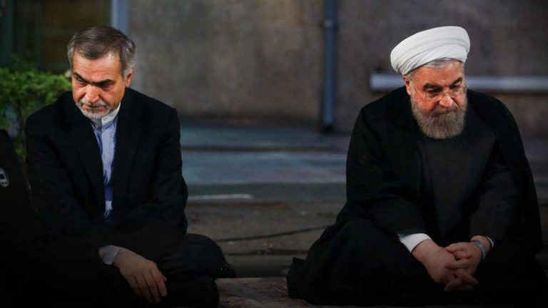 The Iranian president's brother faces charges of receiving bribes and money laundering Image