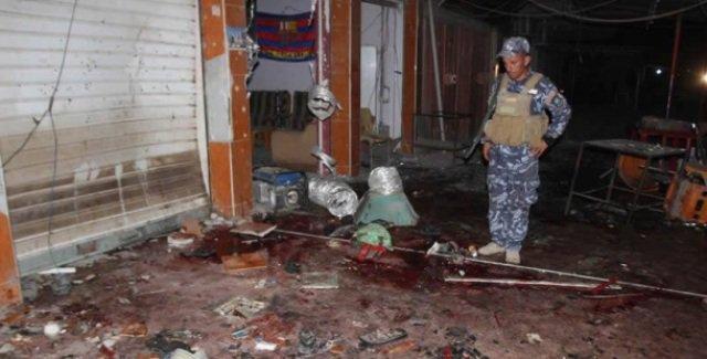 انفجار عبوة ناسفة بالقرب من محال تجارية في منطقة سبع البور شمالي بغداد
