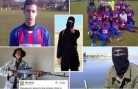 """ديلي ميل : خمسة لاعبي كرة قدم برتغاليين احدهم زميل رونالدو  تورطوا بالقتال مع """"داعش """""""